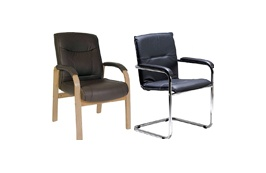 Leather Visitor Chairs