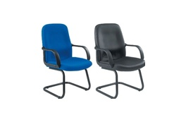 Black Frame Meeting Chairs