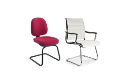 Cantilever Visitor Chairs
