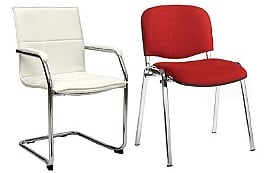 Chrome Frame Chairs