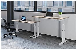 Fraction Height Adjustable Desk
