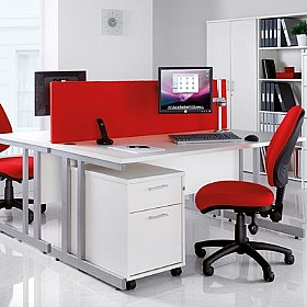Next Day White Contract Office Furniture