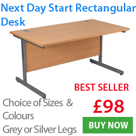 Next Day Start Cantilever Desk