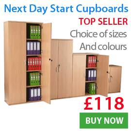 Next Day Start Storage Cupboards
