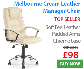 Melbourne leather Manager Chair