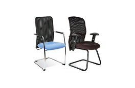 Mesh Visitor Chairs