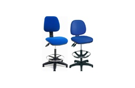 Fabric Draughtsman Chair