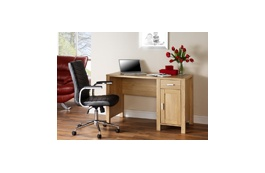 Amazon Traditional Oak Desk