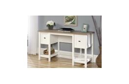 Tigris Traditional White Desk