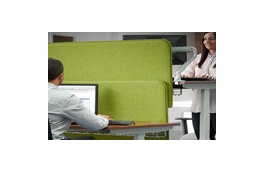 Atlantis Sit-Stand Desking Screens
