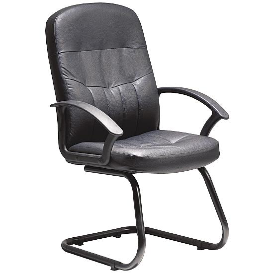 Cavalier Leather Visitor Chair
