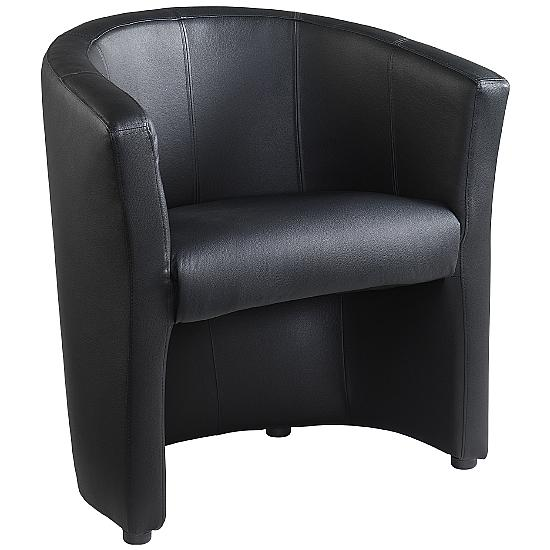 London Leather Tub Chair