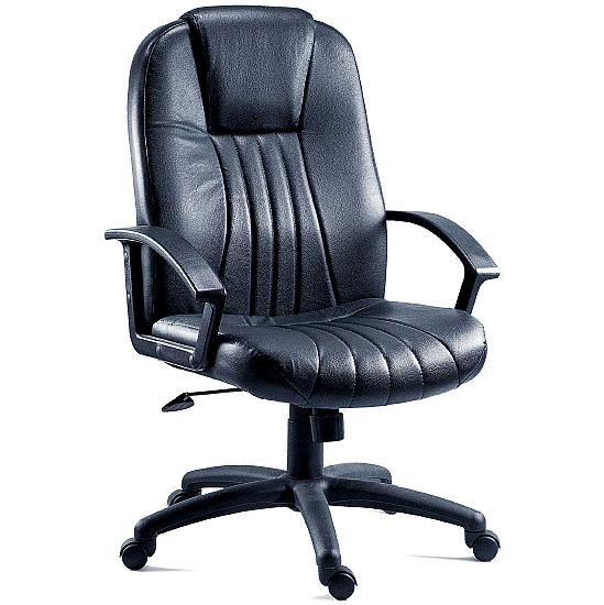 City Leather Manager Chair