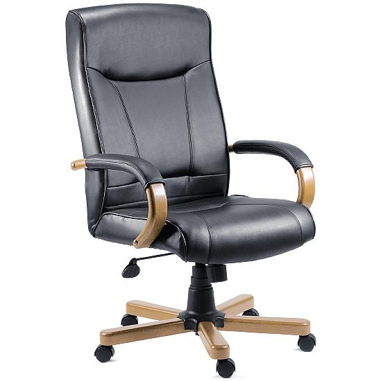 Kingston Leather Manager Chair