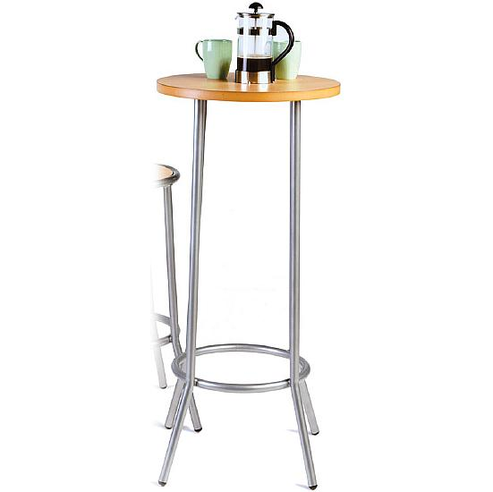 Tall silver bistro table bistro tables