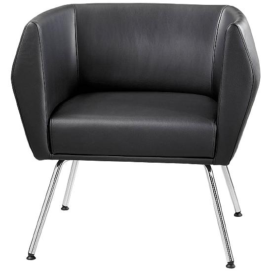 Premium HB1 4 Leg Leather Reception Chairs