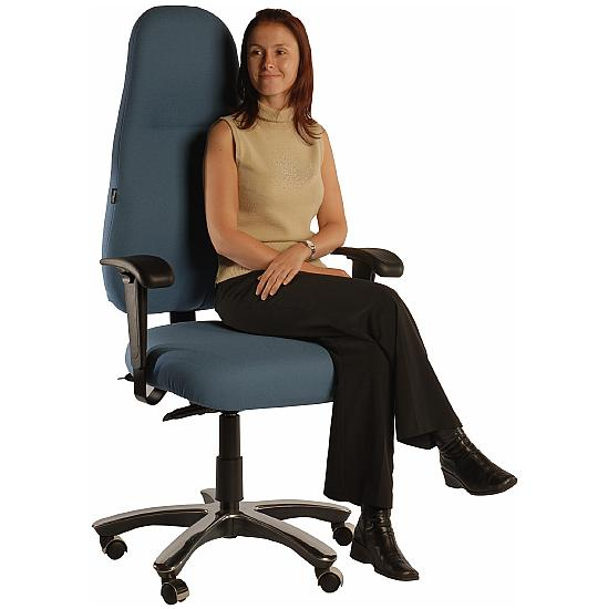 Therapod Orthopaedic Chairs With Extra Wide Seat With Neck - Orthopaedic chairs uk
