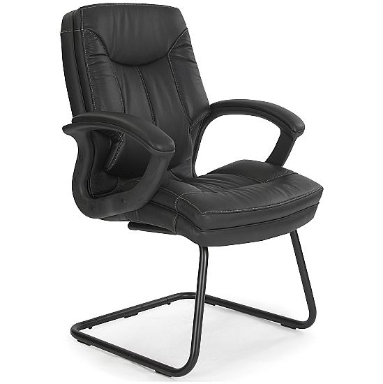 Madrid Leather Visitor Chair