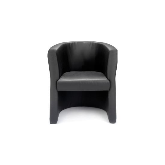 New York Leather Tub Chair