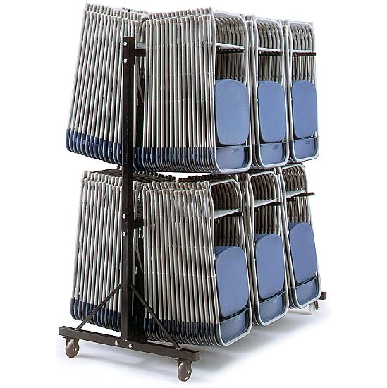 High Hanging Chair Trolley - 3 Rows - Office Chairs