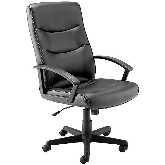 Canasta II Leather Look Manager Chair