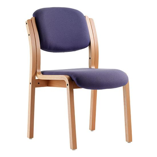 Windsor Beech Stacking Chair - Reception Chairs