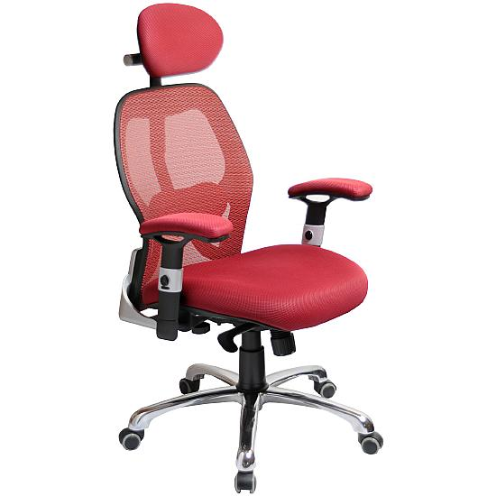Ergo-Tek Wine Mesh Office Chair