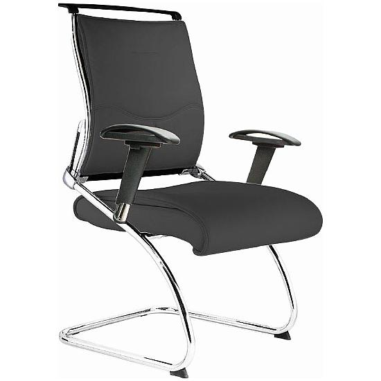Linx Executive Visitor Chair Black