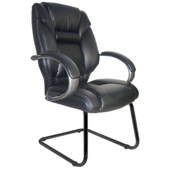 Bailey Leather Cantilever Chair