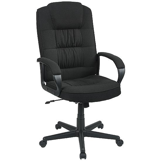 Lexie Executive Fabric Chair - Office Chairs