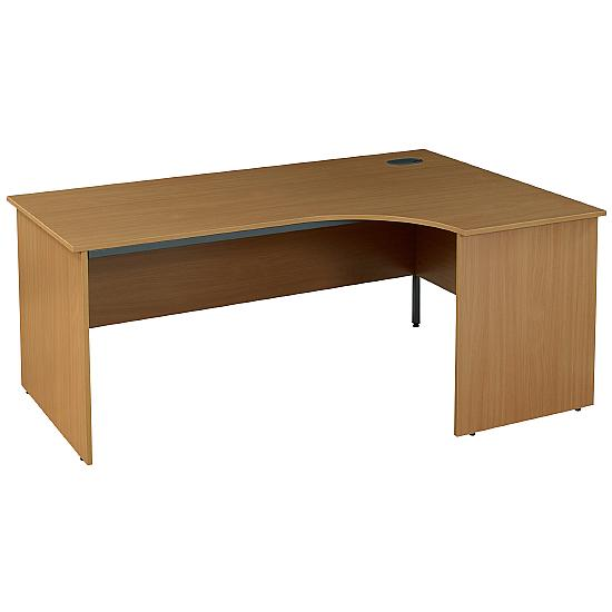 Next Day Pinnacle Ergonomic Panel End Desk