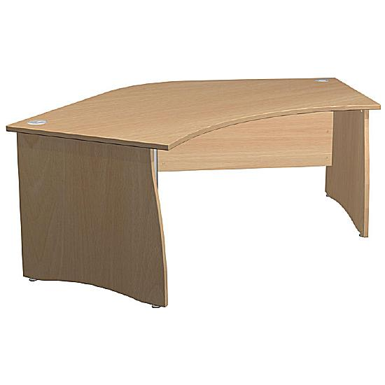 Arena Standard Delta Panel End Desk