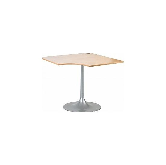 Arena Quad Meeting Table Trumpet Leg