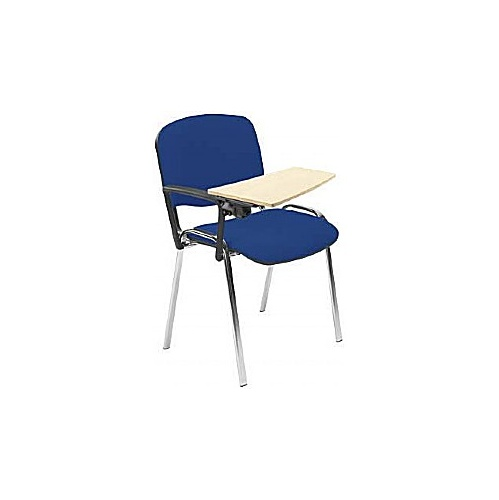 Iso Chrome Frame Conference Chair With Beech Writing