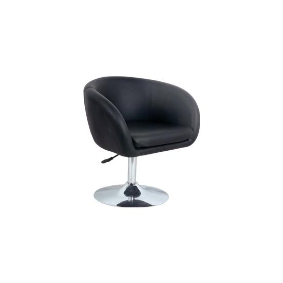 Contemporary Leather Lounge Stool
