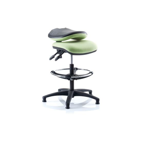Kirby Medium Back Draughtsman Checkout Chair