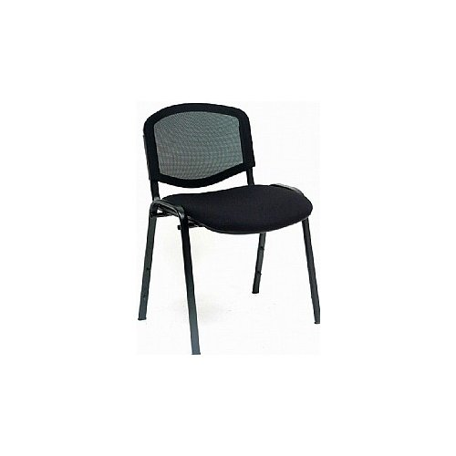 Next Day Mac Mesh Black Frame Conference Chair(Pack of 4)