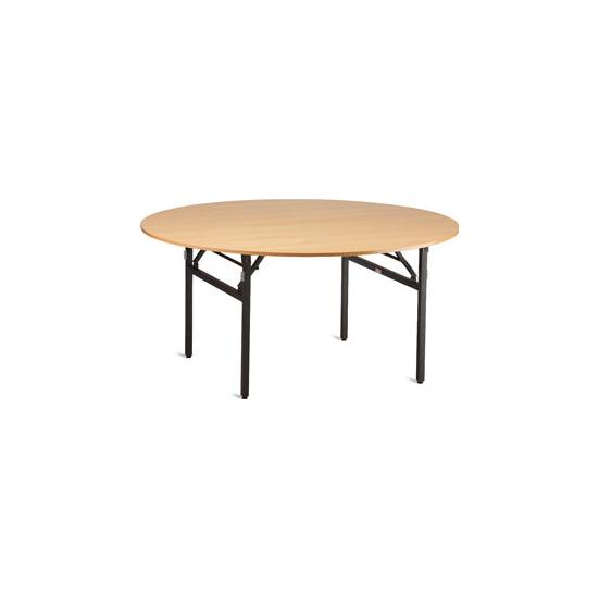 Heavy-Duty Round Folding Table