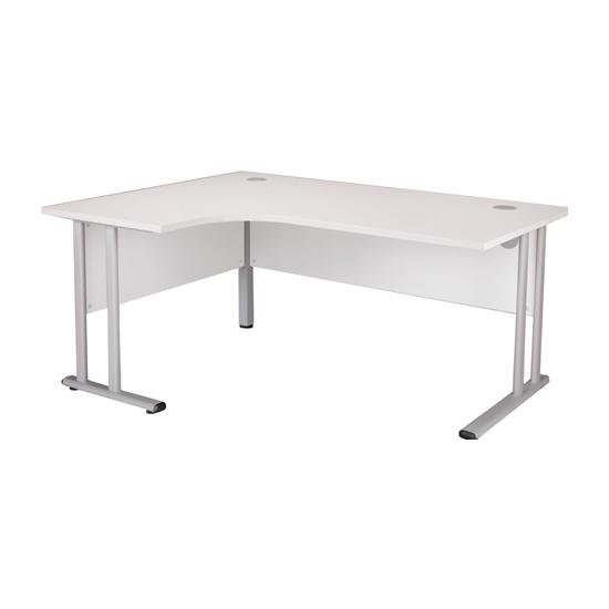Next Day White Contract Ergonomic Desks