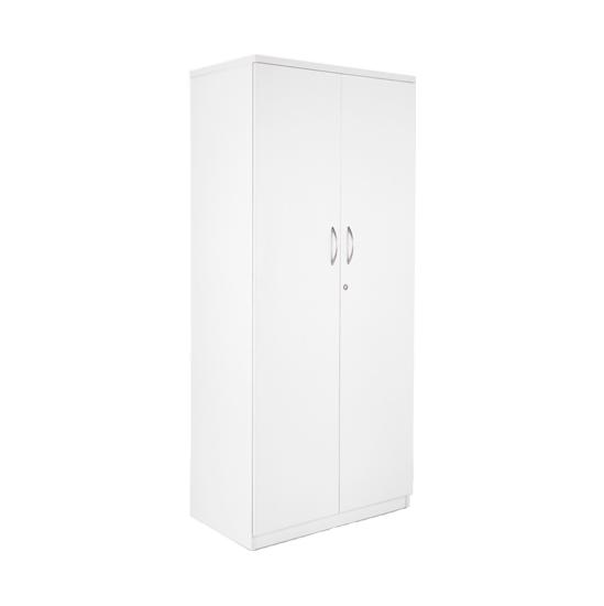 Next Day White Contract Tall Cupboard