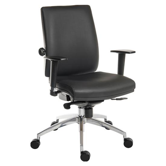Ergo Plus 24 Hour Executive Leather Operator
