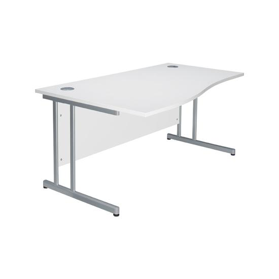 Next Day Prime Cantilever Wave Desks