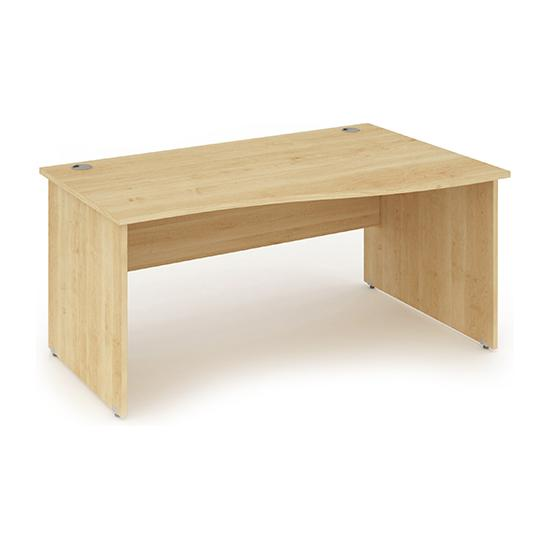 Arran Wave Panel End Desk