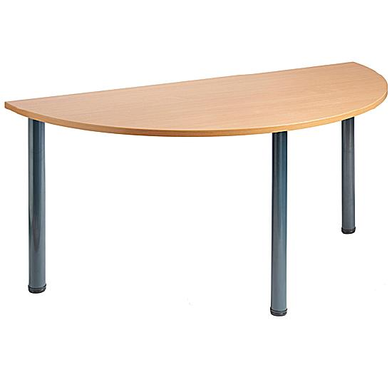 Next Day Tubular SemiCircular Meeting Table Meeting Room - Semi circle conference table