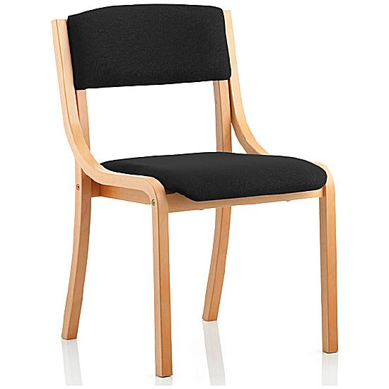 Madrid Vinyl Antibacterial Wooden Framed Chair