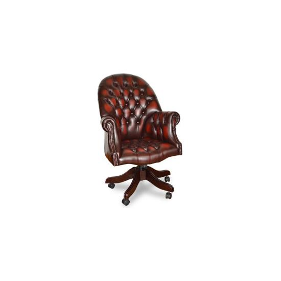 Antique Replica Directors Desk Chair