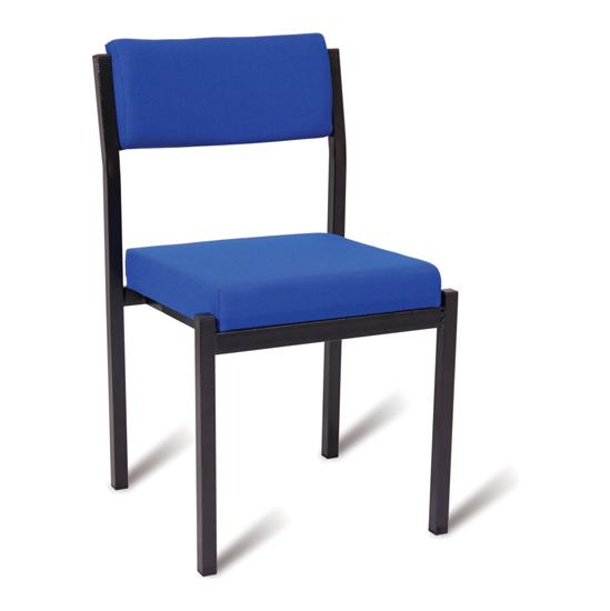 Traditional Side Stacking Chair