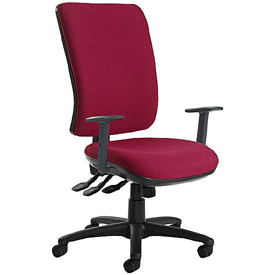 24 Hour Ultimate Square Back Operator Chair