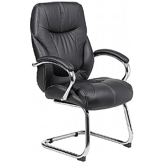 Geneva II Leather Visitor  Chair