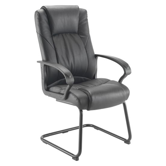 Casino Leather Visitor Chair